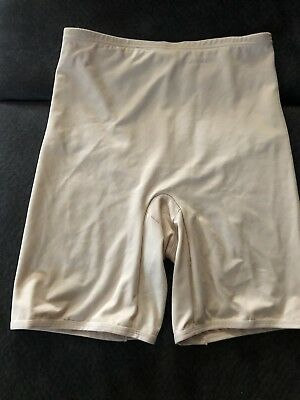 Vintage Sears High Waist/Long Leg Panty Girdle~Size XL 31-32~Beige~Style 23647