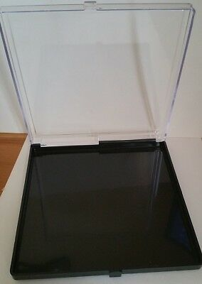 PIN Badge & Medals Display Case Acrylic Plastic L=150mm x W=150mm x Dpt=20mm