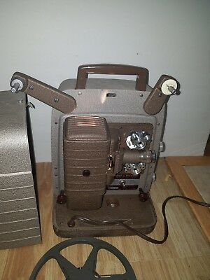 Bell & Howell Model 253 R 8mm Film Photography Art Home Movie Projector