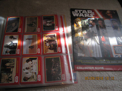 Star Wars Topps Cards In Binder Mixed Lot 181 Cards Vgc