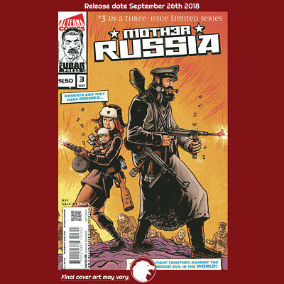 MOTHER RUSSIA #3 (OF 3) (MR) 1st Print (WK39.18) (W) Jeff McComsey