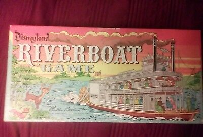Disneyland Riverboat game Parker Brothers Incorporated,1960