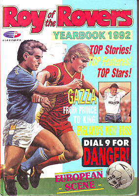 ROY of the ROVERS YEARBOOK 1992 HARDBACK VGC