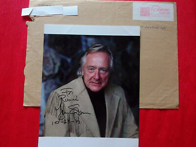 """Gerry Spence Legende US-Trial Lawyers Trial HOF Signed 8"""" x 10"""" Color Photo!"""