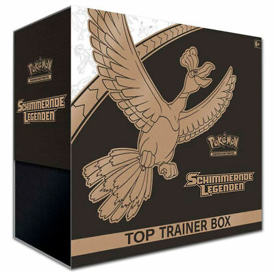 Pokémon Schimmernde Legenden Top-Trainer-Box - deutsch