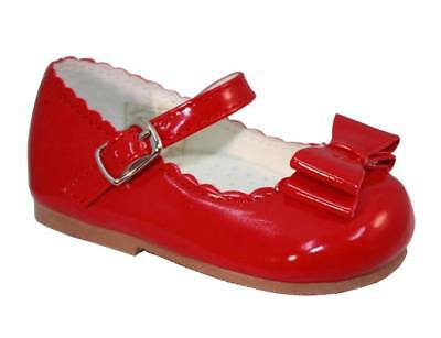 Red Elena bow shoes size 6