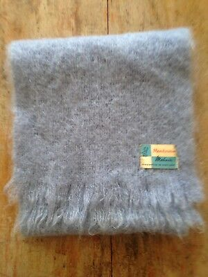 Vintage Mohair Scarf By Montrose Scotland