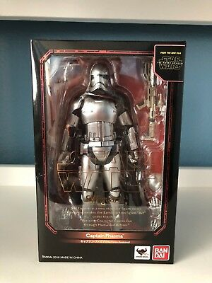 SH Figuarts Star Wars The Force Awakens Captain Phasma 100% Complete Authentic