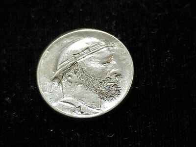 Nice genuine early hobo nickel, beautiful carving in wonderful condition!