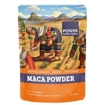 Certified Organic Maca Powder 750g Health super food Raw Vegan Gluten Free