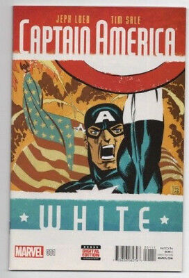 CAPTAIN AMERICA: WHITE #1-5 (Loeb/Sale; all NM; I pay postage)