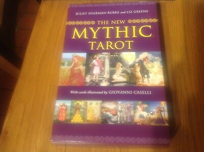 tarot cards and book The New Mythic