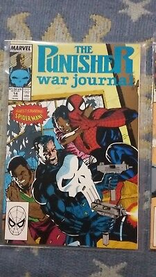 punisher war journal 14 and 15 great condition