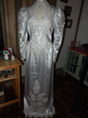 1990's Vintage Alfred Angelo  Wedding Dress  Size 14