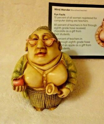 Harmony Ball Pot Belly Mind Mender The Teacher Collectible Figurine Gift NIB