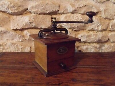 Vintage French Coffee Grinder Peugeot Freres (Valentichey Dours)
