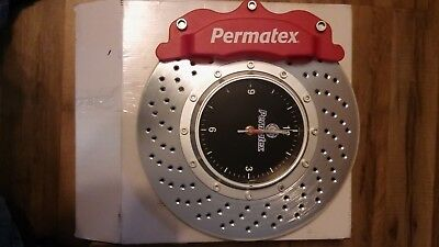 "14"" Permatex Brake rotor promotinal clock"
