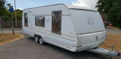 Tabbert comtesse delux 05 2005 twin axle caravan stolen recovered damage