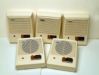 5 - Total AIPHONE NA-AN VOICE SYSTEM SUB STATIONS, used from working environment