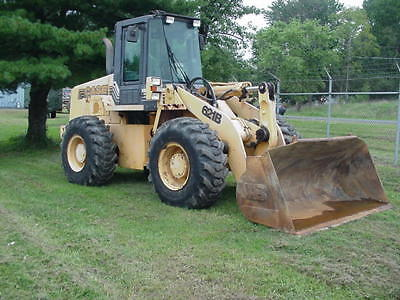 1997 Case 621B Wheel Loader 1 Owner