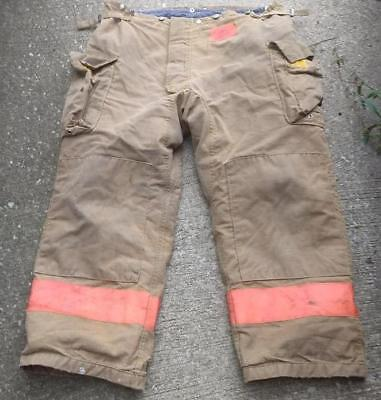 Morning Pride Firemans Turnout  Bunker Pants Gear 44/30 Globe Fire Dex Securitex