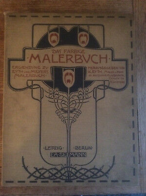 Das Farbige Malerbuch (The Coloured Painter's Book),1st Folio Edition,1901