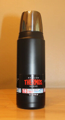 NEW THERMOS Brand Vacuum Insulated Stainless Steel 16 oz Beverage Bottle