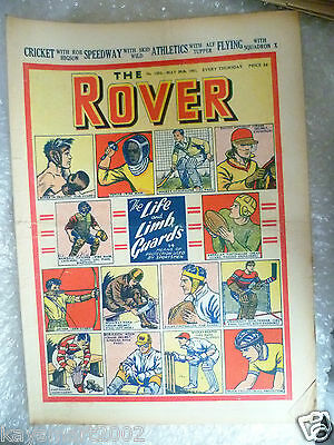 THE ROVER Comic, No.1352, 26th May 1951- The Life & Limb Guards