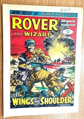 Rover and Wizard 17th October 1964