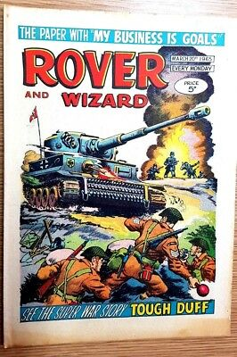 Rover and Wizard 20th March 1965