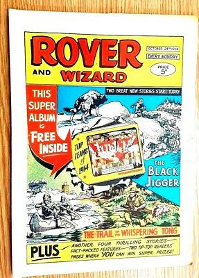 Rover and Wizard 24th October 1964