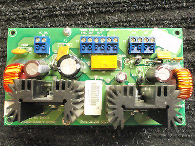 Bosch Access Easy Controller Power Supply Board P/N 011201 for ADC-25007