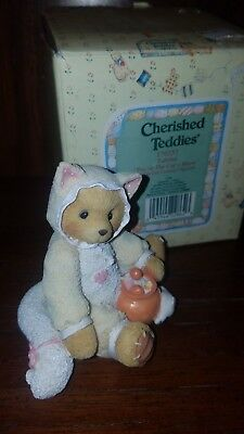 "Cherished Teddies ""You're the Cats Meow"" Tabitha 176257  Halloween New in box"