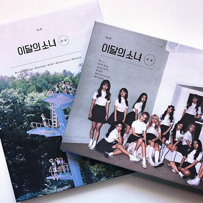 LOONA - ++ (Mini Album) Choose Normal Version (No Photocard) Looπδ Monthly  Girl