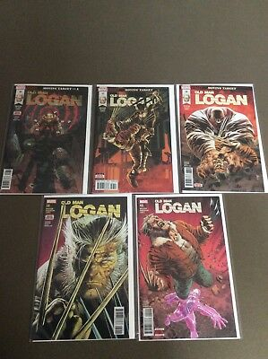 OLD MAN LOGAN #36 - 40 Moving Target SET NM