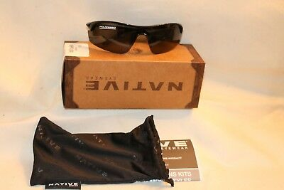 295e8d0a668 NATIVE POLARIZED EYEWEAR Sunglasses Sealed Package New 129 Gray Itso ...