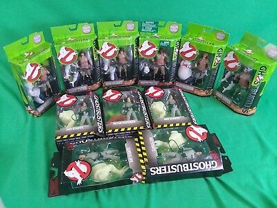Lot Of 11 New Ghostbusters Figures
