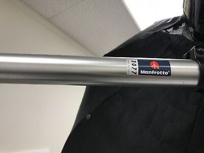 """(2) Manfrotto Wall Mounting Boom Arm - Heavy Duty Aluminum  / 47.2-82.6"""""""