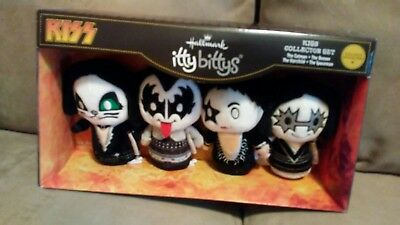 Hallmark Itty Bitty Bittys KISS Rock Band The Demon Starchild Spaceman Catman