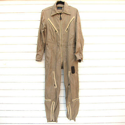 Vtg WWII US Army Air Force K-1 Flight Suit Very Light Cotton Twill H.D. Lee Sz S