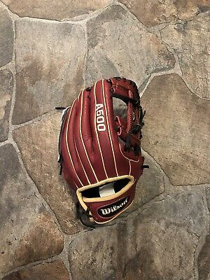 "New!!!Wilson A500 11.5"" Leather Baseball Glove!!"