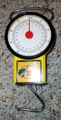 Bass Pro Shops Fish Scale 50 LB Scale With Tape Measure
