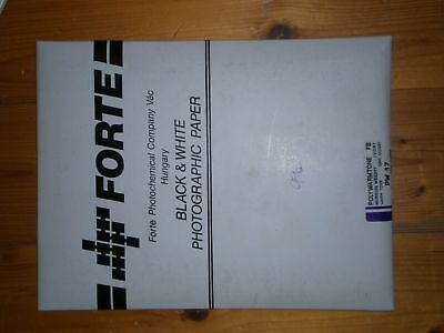 Forte polywarmtone fb photographic paper pw 17 ivory 18x24