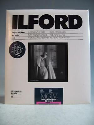 Ilford 8X10 Multigrade IV MGD.1M Photographic Paper-Opened Envelope 20 Sheets #F
