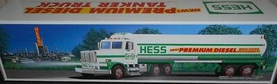 Limited# 1993 Hess Toy Tanker Truck Premium Diesel(Not Sold To Public)Nice!