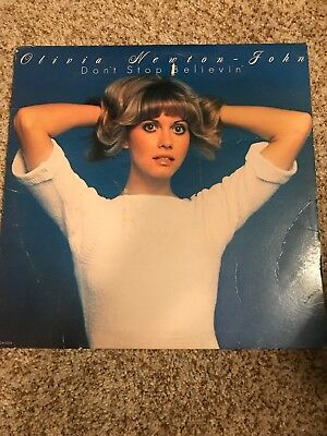 VINTAGE Vinyl LP Record OLIVIA NEWTON JOHN - DON'T STOP BELIEVING 1976 VG+