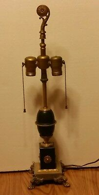 Vintage Art Deco Mutual Sunset  Lamp Co. Table Lamp 2811