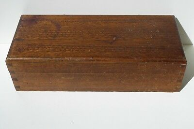 Antique Dovetail Timber Box