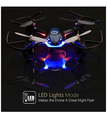 Holy Stone HS170 Predator Mini RC Helicopter Drone 2.4Ghz 6-Axis Gyro 4 Ch..
