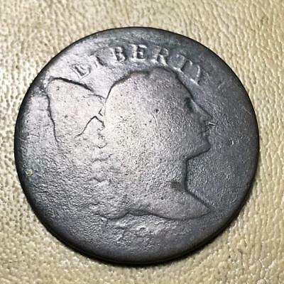 1796 ? Flowing Hair Large Cent   #8428